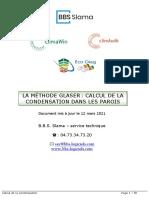 CALCUL DE LA CONDENSATION - GLASER (1)