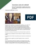 Argentina. Doscientos años de soledad