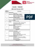 Sílabo - Temario Access