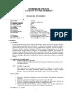 Sílabo de Muestreo Estadística e Informática