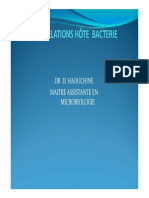 RELATIONS-HOTE-BACTERIE