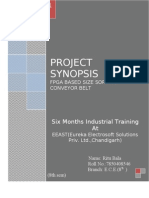 Synopsis (FPGA based size sorting conveyor belt)