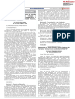 RESOLUCIÓN MINISTERIAL Nº 100-2021-MINCETUR
