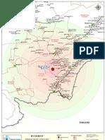 Map Earthquake Myanmar