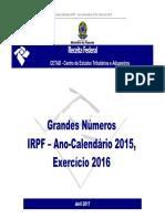 Relatorio GN IRPF 2017