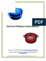 The Gourmet Tray French Dutch Oven Meals