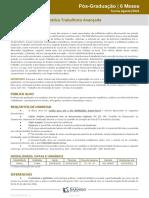 POS 6 Meses -AGO - 21.2 - Pratica Trabalhista Avancada