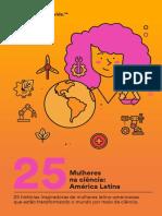 25 Mulheres Na Ciencia America Latina