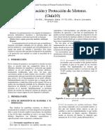 LAB10. Automatización y Protección de Motores