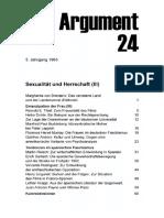 DA024 Sexualität Und Herrschaft (III)