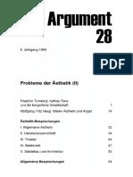 DA028 Probleme Der Ästhetik (II)