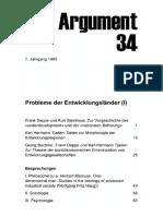 DA034 Probleme Der Entwicklungsländer (I)