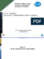 AULA 4_SR NO ESPECTRO DAS MICRO-ONDAS