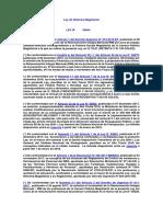 Ley de Reforma Magisterial N° 29944 actualizadad 2019