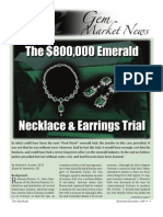 Emerald Necklace Law Suit Excell Material $800.000