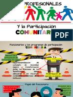 Profesionales y la participación comunitaria