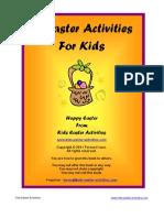 21 Easter Activities for Kids