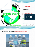 Truth Behind Bottled Water