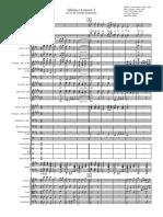 Gloria e Louvor- Coro e Orquestra- Grade