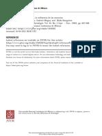 15. Papastamou, S., Mugny, G., Ibarguren, N. (1982) Una Teoría Psicosociológica de La Influencia de Las Minorias. Vol 44. No.2 (Apr-julio) 667-682. Revista Mexicana de Sociología. UNAM