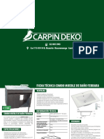 Brochure Carpindeco