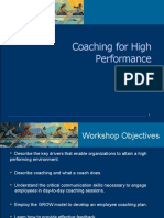Coaching For High Performance Training