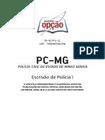 Apostila 2021 amostra prep-pc-mg-escrivao