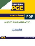 Apostila da PGE licitações