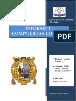 INF 1 L15 Compuertas Logicas Maritza