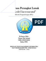 Incremental Model (model pengembangan RPL)