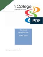 Workload Management booklet