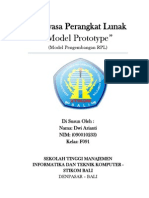 Model Prototype (model pengembangan RPL)