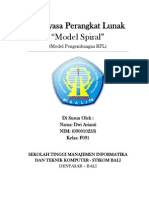 Model Spiral (model pengembangan RPL)