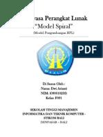 Model Spiral 2 (model pengembangan RPL)