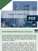 UNIDAD II   ESTUDIO TECNICO , TAMAÑO Y LOCALIZACION