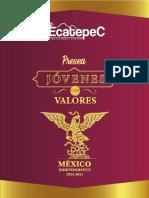 Convocatoria Presea Jóvenes con Valores Ecatepec 2021