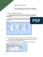 Ajustes integração NFS-e Obras e  Limpeza