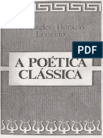 A Poetica Classica - Aristoteles, Horacio e Longino