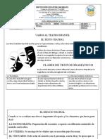 Guìa pedagògica area  LENGUA CASTELLANA para 4º -3P-5E