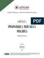 Cap 1 - Propiedades Parciales Molares