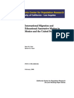 CCPR-004-08 International Migration and Educational Assortative Mating in Mexico and the United States