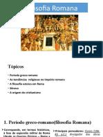 Filosofia romana - Aula 02