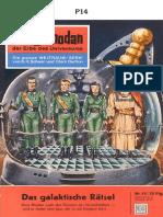 P-014 - CHARADA GAL╡CTICA - CLARK DARLTON - PROJETO FUTUR╢MICA ESPACIAL