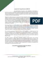 Comunicado Conse Jo Directivo-Mayo 4-2021