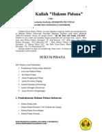 Catatan Kuliah Hukum Pidana