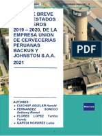 INFORME BREVE DE LOS ESTADOS FINANCIEROS 2019