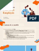 Réunion D'Accueil Des Nouveaux Employés by Slidesgo