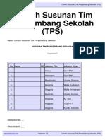 Download Contoh Susunan Tim Pengembang Sekolah TPS Kepalasekolah.org