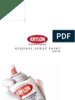Каталог Krylon 2010 DIY Краски