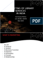 Marketing of Library Services in India - Anil Mishra